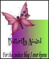 Award Butterfly