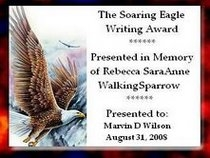Award Soaring Eagle