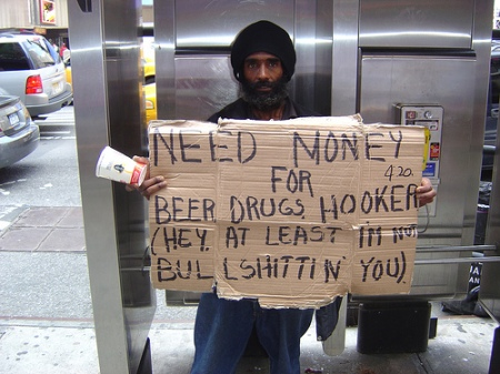 homeless man 3