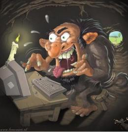 blogging troll